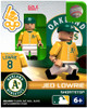 Oakland A's MLB Generation 2 Series 1 Jed Lowrie Minifigure