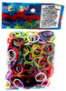 Rainbow Loom Jelly Multi Color Mix Rubber Bands Refill Pack [600 ct]