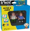 K'NEX Family Guy Peter & Chris Minifigure 2-Pack #44040