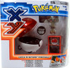 Pokemon TOMY Catch n Return Pokeball Bunnelby & Poke Ball Figure Set