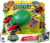 Teenage Mutant Ninja Turtles TMNT Half Shell Heroes Stealth Bike Action Figure Vehicle