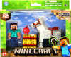 Minecraft Steve & Horse Figure 2-Pack [White Horse]