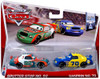 Disney Cars The World of Cars Series 2 Sputter Stop No. 92 & Gasprin No. 70 Diecast Car 2-Pack #8/16