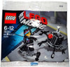 The LEGO Movie Micro Manager Battle Exclusive Mini Set #30281 [Bagged]