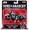 "Sons of Anarchy John ""JT"" Teller Diecast Replica Bike"