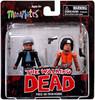 The Walking Dead Minimates Series 5 Tyreese & Prison Michonne Minifigure 2-Pack