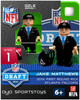 Atlanta Falcons NFL 2014 Draft First Round Picks Jake Matthews Minifigure