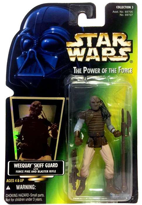 Star Wars Return of the Jedi Power of the Force POTF2 Collection 3 Weequay Skiff Guard Action Figure [Hologram Card]