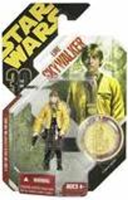 Star Wars A New Hope 30th Anniversary 2007 Wave 2 Ultimate Galactic Hunt Luke Skywalker Action Figure [Yavin Ceremony]