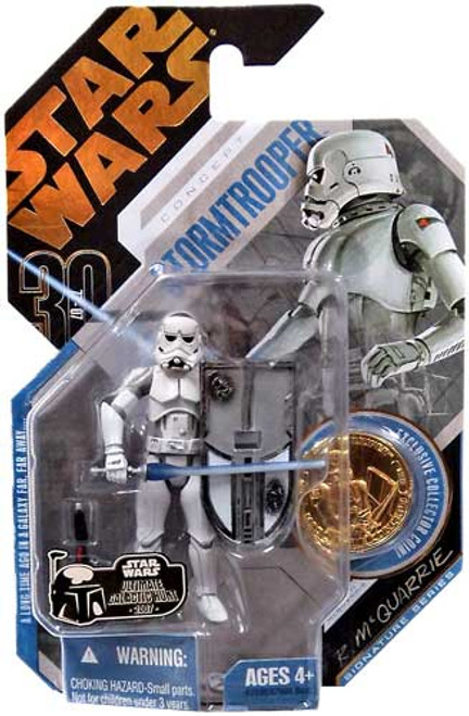 Star Wars Expanded Universe 30th Anniversary 2007 Wave 1 Ultimate Galactic Hunt Stormtrooper Action Figure #9 [McQuarrie Concept]
