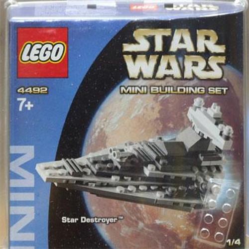 LEGO Star Wars A New Hope Mini Building Sets MINI Star Destroyer Set #4492