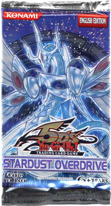 YuGiOh Stardust Overdrive Booster Pack [Sealed]