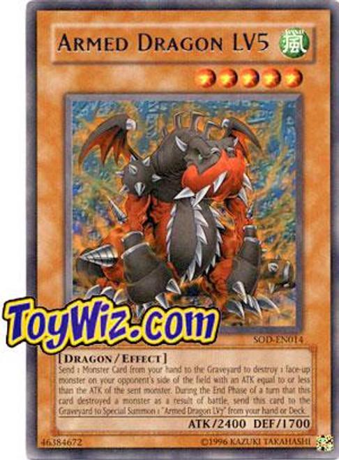 YuGiOh Soul of the Duelist Rare Armed Dragon LV5 SOD-EN014