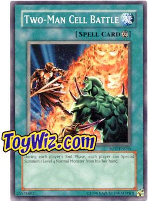 YuGiOh Soul of the Duelist Common Two-Man Cell Battle SOD-EN045
