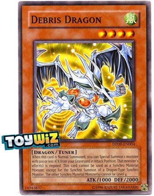 YuGiOh 5D's Duelist Pack Yusei Fudo 2 Common Debris Dragon DP09-EN004