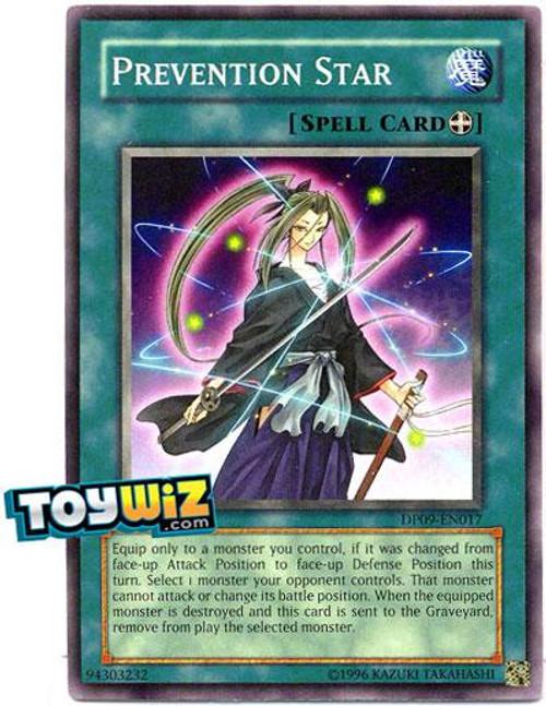 YuGiOh 5D's Duelist Pack Yusei Fudo 2 Common Prevention Star DP09-EN017