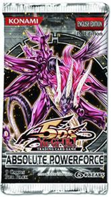YuGiOh Absolute Powerforce Booster Pack [Sealed]