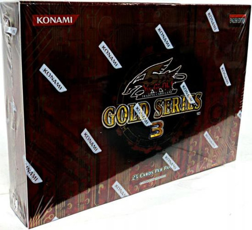 YuGiOh Gold Series 3 2010 Exclusive Booster Pack