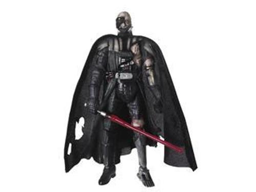 Star Wars Force Unleashed 30th Anniversary 2008 Wave 2 Battle Damaged Darth Vader Action Figure #12