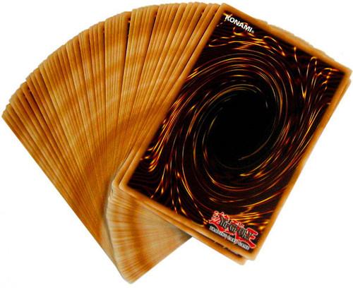 YuGiOh Custom Mega Lot of 50 Rare Single Card Lot