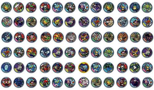 Yo kai watch series 1 yokai medals mystery box 24 packs for Porte medaillon yokai watch