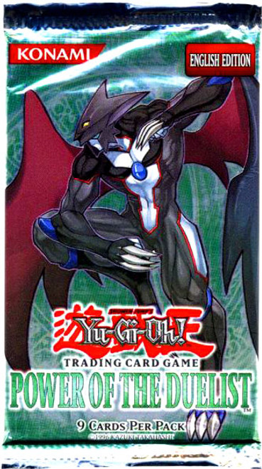 YuGiOh Power of the Duelist Booster Pack [Sealed]