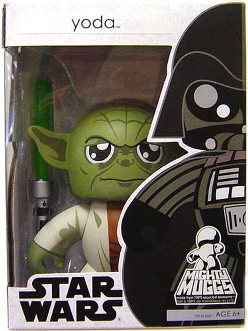 Star Wars Attack of the Clones Mighty Muggs Wave 4 Yoda Vinyl Figure