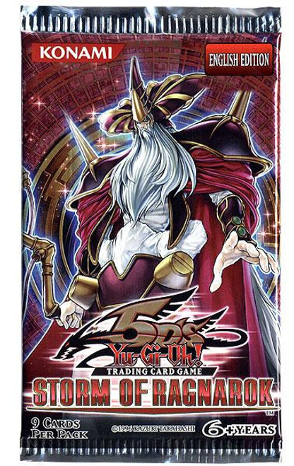 YuGiOh Storm of Ragnarok Booster Pack [Sealed]