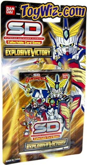 Gundam SD Collectible Card Game Explosive Victory Booster Pack