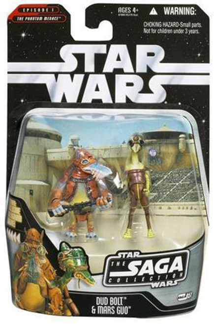 Star Wars The Phantom Menace Saga Collection 2006 Dud Bolt & Mars Guo Action Figure 2-Pack #51