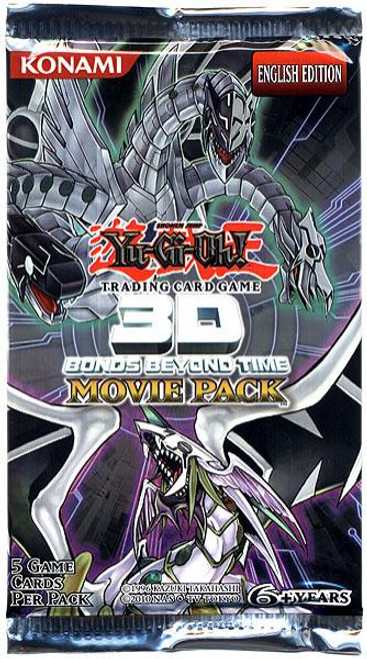 YuGiOh 3D Bonds Beyond Time Booster Pack Booster Pack [Sealed]