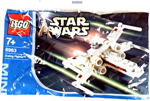 LEGO Star Wars A New Hope X-Wing Fighter Mini Set #6963 [Bagged]