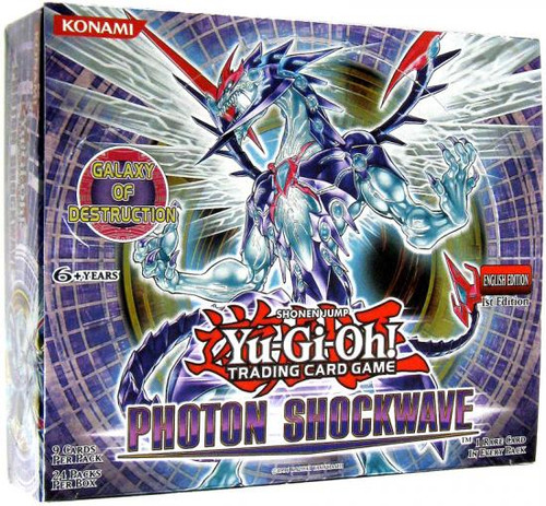 YuGiOh Photon Shockwave Booster Box [24 Packs] [Sealed]