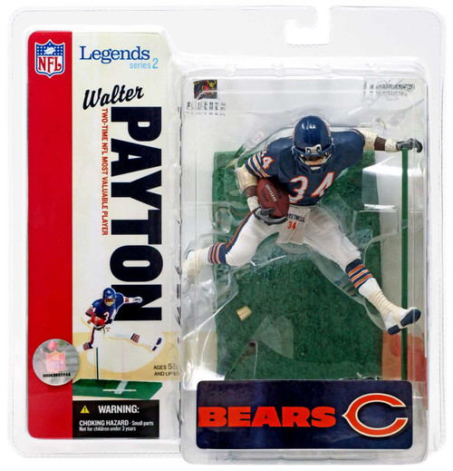 McFarlane Toys NFL Chicago Bears Sports Picks Legends Series 2 Walter Payton Action Figure [Blue Jersey]