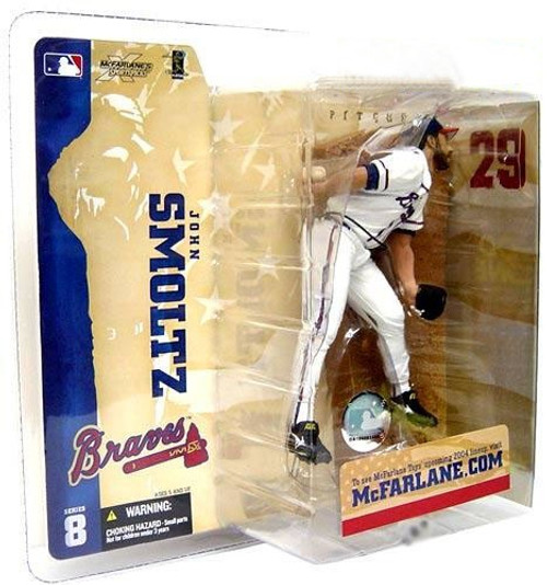 McFarlane Toys MLB Atlanta Braves Sports Picks Series 8 John Smoltz Action Figure