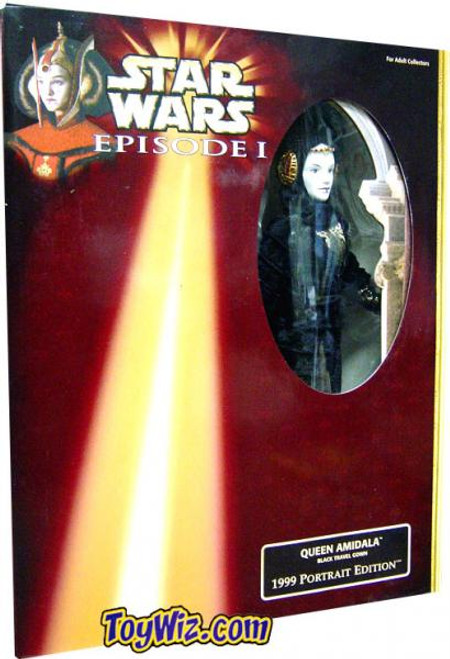 Star Wars The Phantom Menace 12 Inch Figures 1999 Queen Amidala 12 Inch Action Figure [Travel Gown]