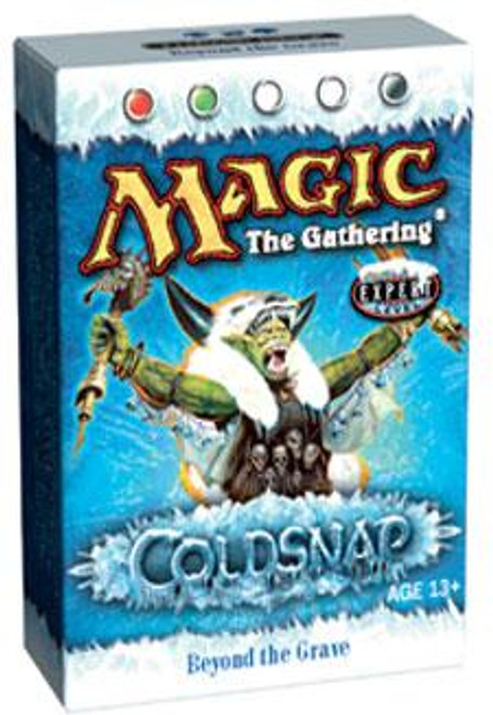 MtG Coldsnap Beyond the Grave Theme Deck [Sealed Deck]