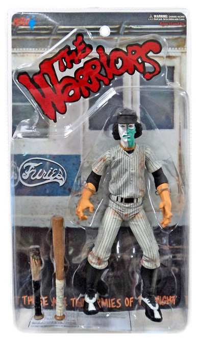 The Warriors White & Green Faced Baseball Fury Exclusive Action Figures