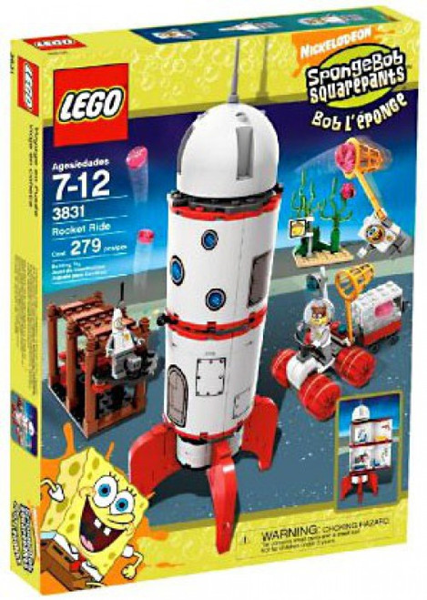 LEGO Spongebob Squarepants Rocket Ride Set #3831