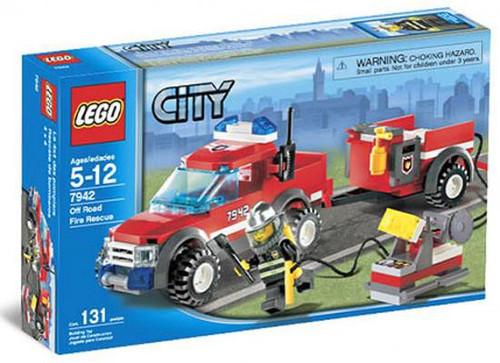 LEGO City Off-Road Fire Rescue Set #7942