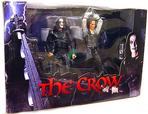 NECA The Crow Eric Draven & Top Dollar Action Figure 2-Pack [Damaged Package]