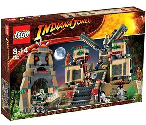 LEGO Indiana Jones Temple of the Crystal Skull Set #7627