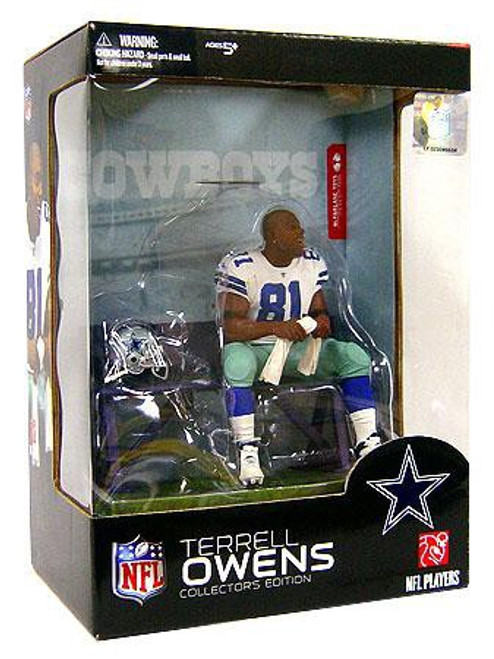 McFarlane Toys NFL Dallas Cowboys Sports Picks Collector's Edition Boxed Set Terrell Owens Action Figure
