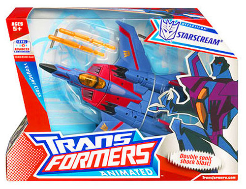 Transformers Animated Voyager Starscream Voyager Action Figure