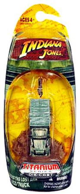 Indiana Jones Raiders of the Lost Ark Titanium Series Cargo Truck Diecast Vehicle