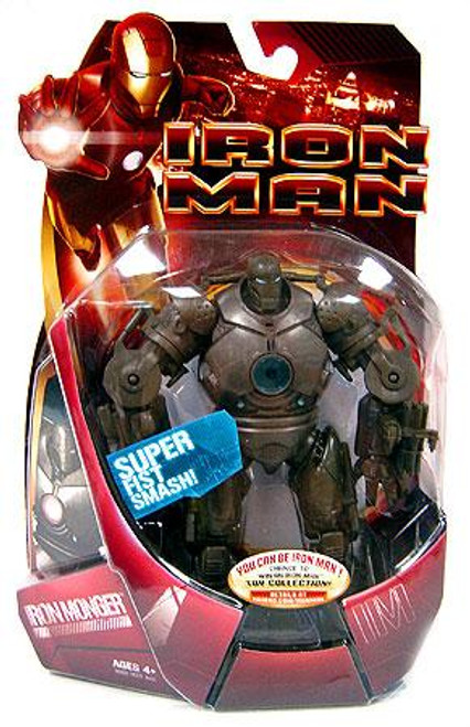 Iron Man Movie Iron Monger Action Figure [Blue Arc Reactor]