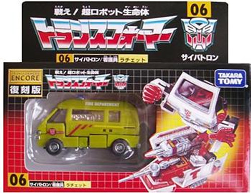 Transformers Japanese Renewal Encore Ratchet Exclusive Action Figure #06