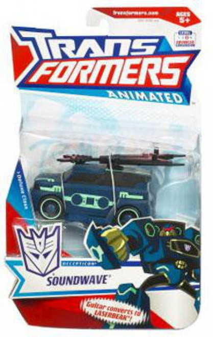 Transformers Animated Deluxe Soundwave Deluxe Action Figure