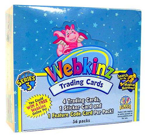 Webkinz Trading Cards Series 3 Booster Box