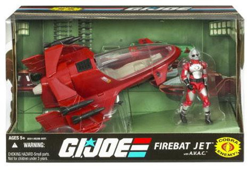 GI Joe 25th Anniversary FireBat Jet Action Figure Vehicle